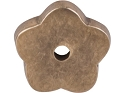 Top Knobs Aspen Collection Flower Plate - Light Bronze