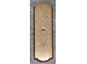 Top Knobs Aspen Rectangle Backplate - Light Bronze (COPY)