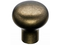 Top Knobs Aspen Round Knob - Light Bronze