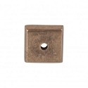 Top Knobs Aspen Square Backplate - Light Bronze