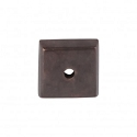 Top Knobs Aspen Square Backplate - Medium Bronze