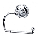 Top Knobs ED4PCE  Edwardian Ribbon Tissue Hook - Polished Chrome