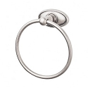 Top Knobs ED5APC Edwardian Oval Towel Ring - Antique Pewter