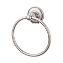 Top Knobs ED5APD Edwardian Smooth Towel Ring - Antique Pewter