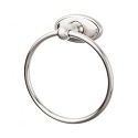 Top Knobs ED5BSNC Edwardian Oval Towel Ring - Brushed Satin Nickel