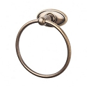 Top Knobs ED5GBZC Edwardian Oval Towel Ring - German Bronze