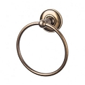 Top Knobs ED5GBZD Edwardian Smooth Towel Ring - German Bronze