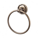 Top Knobs ED5GBZE Edwardian Ribboned Towel Ring - German Bronze