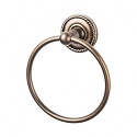 Top Knobs ED5ORBF Edwardian Rope Towel Ring - Oil Rubbed Bronze