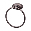 Top Knobs ED5ORBC Edwardian Oval Towel Ring - Oil Rubbed Bronze