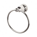 Top Knobs HUD5PN Hudson Towel Ring - Polished Nickel