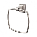 Top Knobs STK5AP Stratton Towel Ring - Antique Pewter