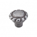 Top Knobs Chateau 1 3/8 Inch Twist Knob - Pewter