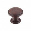 Top Knobs M1225 Rounded Knob 1 1/4 Inch- Patina Rouge