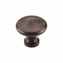 Top Knobs M1228 Peak Knob 1 5/16 Inch- Patina Rouge