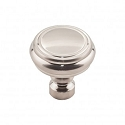 Top Knobs TK880BSN Brixton 1 1/4 inch Rimmed Knob - Brushed Satin Nickel