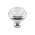 Top Knobs TK882PC Brixton 1 1/4 inch Button Knob - Polished Chrome