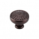 Top Knobs 1 1/4 Inch Oil Rubbed Bronze Cabinet Knob