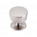 Top Knobs Nouveau III 1 3/16 Inch Cabinet Knob - Brushed Satin Nickel