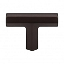 Top Knobs TK790ORB Lydia 1 3/4 inch T Knob - Oil Rubbed Bronze