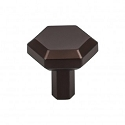 Top Knobs TK791ORB Lydia 1 1/8 inch Knob - Oil Rubbed Bronze