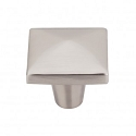 Top Knobs M2062 Aspen II Square Knob 1 1/2 Inch- Brushed Satin Nickel