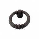 Top Knobs Tuscany 1 1/2 Inch  Newton Ring Pull - Rust