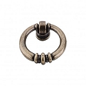 Top Knobs Tuscany 1 1/2 Inch Newton Ring Pull - German Bronze