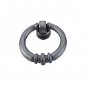 Top Knobs Tuscany 1 1/2 Inch Newton Ring Pull - Pewter Light
