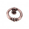 Top Knobs Tuscany 1 1/2 Inch Newton Ring Pull - Antique Copper