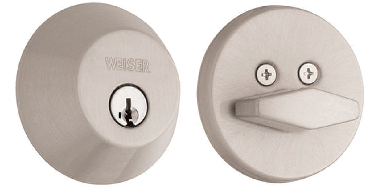 Weiser Door Hardware Gd9471 Single Cylinder Deadbolt