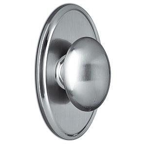 Weslock Julienne Oval Backplate with Egg Shaped Door Knobs