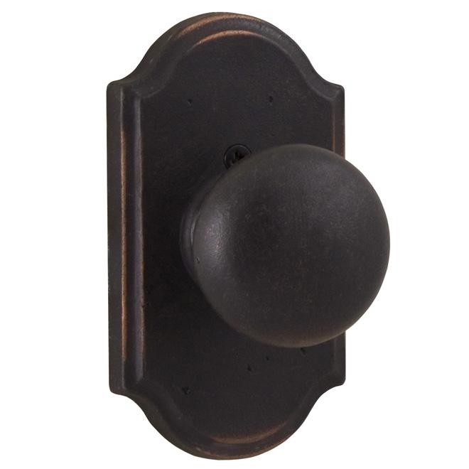 weslock wexford molten bronze premiere door knobs