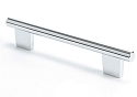 Berenson Euroline Series 128mm CC Pull In Polished Chrome