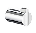 Smedbo Life Collection Single Towel Hook - Polished Chrome (Pair)