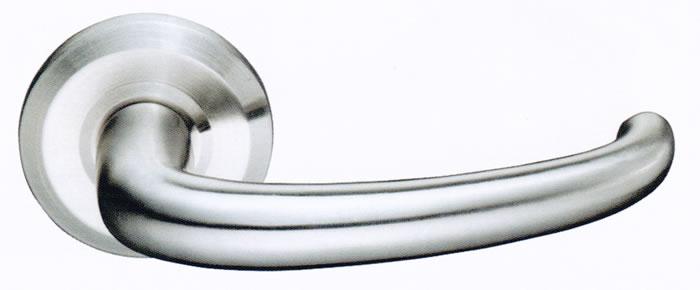 Emtek Door Hardware Emtek Davos Stainless Steel Entrance
