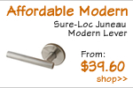 Affordable Modern Door Levers
