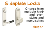 Decorative Sideplate Locks