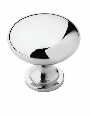 Amerock Allison Value -  1 1/4 Inch Polished Chrome Cabinet Knob