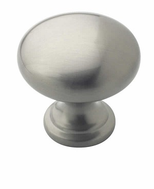 Amerock Allison Value -  1 1/4 Inch Satin Nickel Cabinet Knob