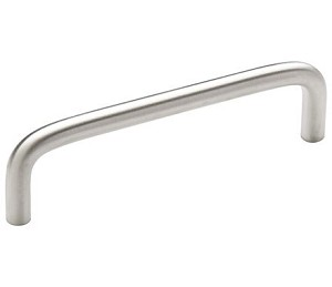 Amerock Allison Value 4 Inch CC Cabinet Pull - Brushed Chrome