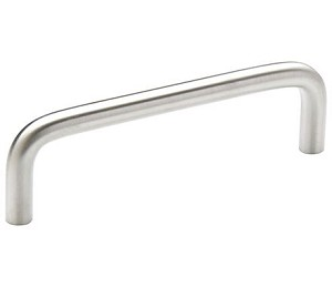 Amerock Allison Value 3 3/4 Inch CC Cabinet Pull - Brushed Chrome