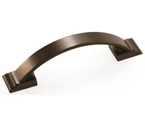Amerock Candler 3 Inch CC Cabinet Pull - Caramel Bronze