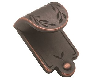 Amerock Oil Rubbed Bronze Nature's Splendor Finger Pull