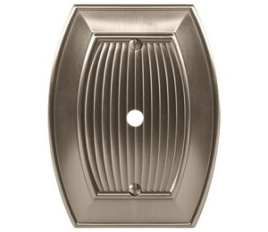 Amerock Sea Grass Cable Wall Plate - Satin Nickel