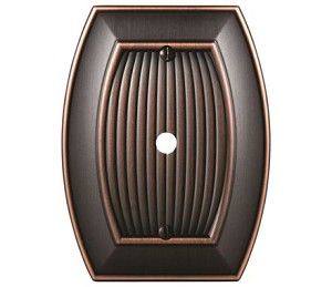 Amerock Sea Grass Cable Wall Plate - Oil-Rubbed Bronze