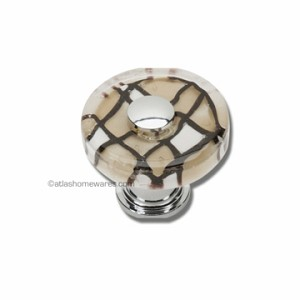Atlas Homewares Dream Glass Collection: Viceroy Round Knob