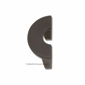 Atlas Homewares Roundabout Collection Small Single Pull in Venetian Bronze - 32mm CC