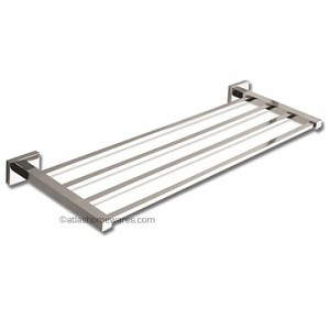 Atlas Homewares Axel Bath Collection 24 inch Towel Rack in Polished Chrome