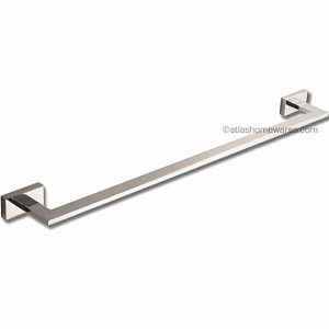 Atlas Homewares Axel Bath Collection 24 inch Towel Bar in Polished Chrome